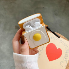 Load image into Gallery viewer, Eggs on Toast Premium AirPods Case Shock Proof Cover-iAccessorize