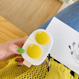 Eggs 'Sunny Side Up' Premium AirPods Case Shock Proof Cover-iAccessorize
