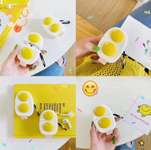 Load image into Gallery viewer, Eggs 'Sunny Side Up' Premium AirPods Case Shock Proof Cover-iAccessorize