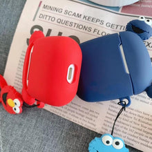 Load image into Gallery viewer, Elmo Ears AirPods Case Shock Proof Cover-iAccessorize