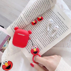 Elmo Ears AirPods Case Shock Proof Cover-iAccessorize