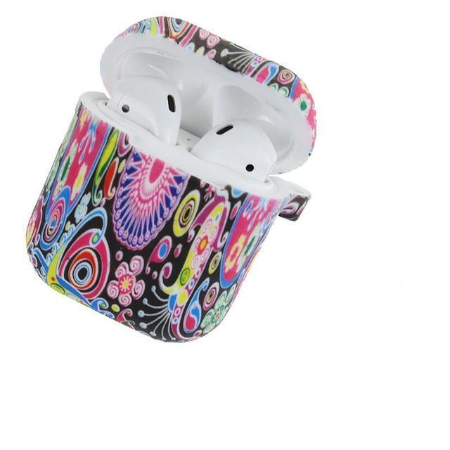 Flower Power AirPods Case Shock Proof Cover-iAccessorize