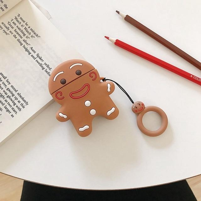 GingerBread Man Cookie Premium AirPods Case Shock Proof Cover-iAccessorize