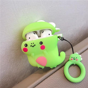 Green Dragon Premium AirPods Case Shock Proof Cover-iAccessorize