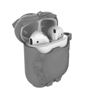 Grey AirPods Case Shock Proof Cover-iAccessorize