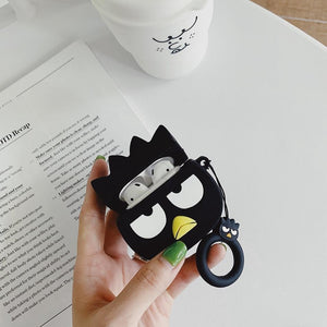 Grumpy Penguin Premium AirPods Case Shock Proof Cover-iAccessorize