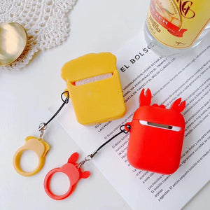Happy Lobster AirPods Case Shock Proof Cover-iAccessorize