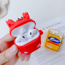 Load image into Gallery viewer, Happy Lobster AirPods Case Shock Proof Cover-iAccessorize