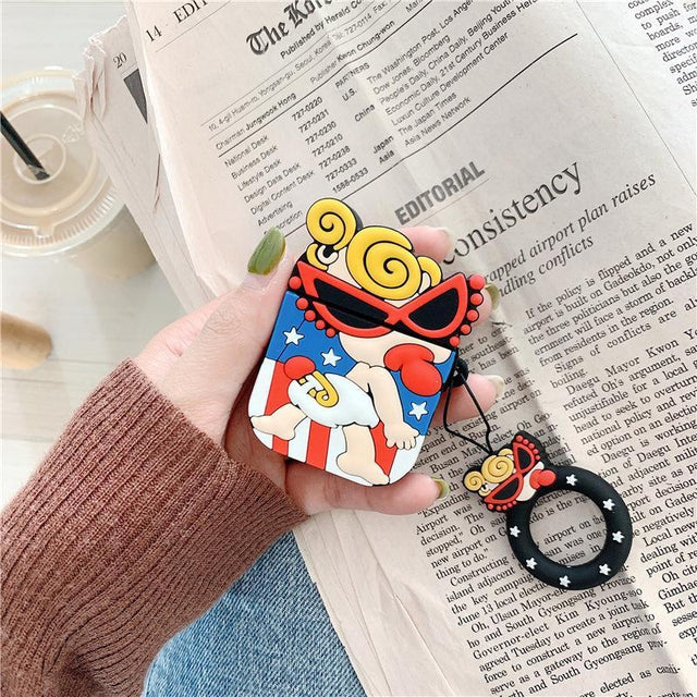 Hysteric Mini AirPods Case Shock Proof Cover-iAccessorize