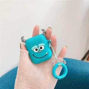 James P Sullivan Monsters Inc AirPods Case Shock Proof Cover-iAccessorize