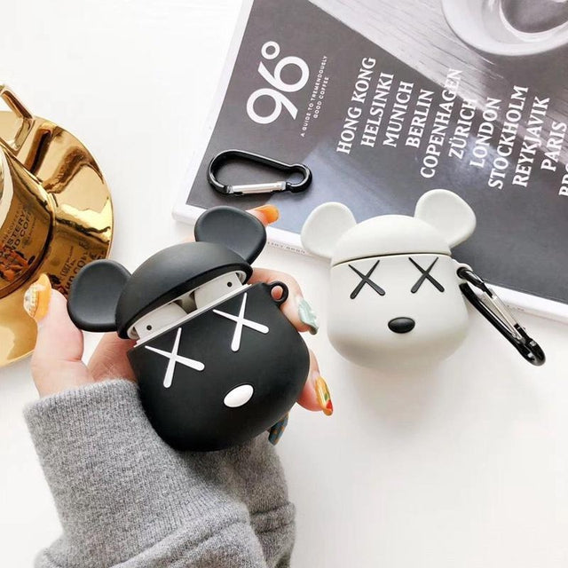 KAWS Black AirPods Case Shock Proof Cover-iAccessorize