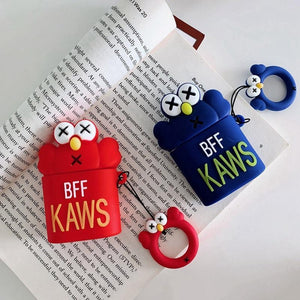 KAWS Elmo AirPods Case Shock Proof Cover-iAccessorize