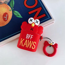 Load image into Gallery viewer, KAWS Elmo AirPods Case Shock Proof Cover-iAccessorize