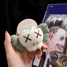 Load image into Gallery viewer, KAWS Green Skull Premium AirPods Case Shock Proof Cover-iAccessorize