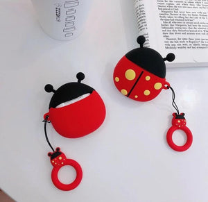 Lady Bug Premium AirPods Case Shock Proof Cover-iAccessorize