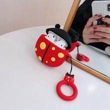 Load image into Gallery viewer, Lady Bug Premium AirPods Case Shock Proof Cover-iAccessorize