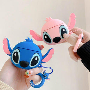 Lilo and Stitch Angel Premium AirPods Case Shock Proof Cover-iAccessorize