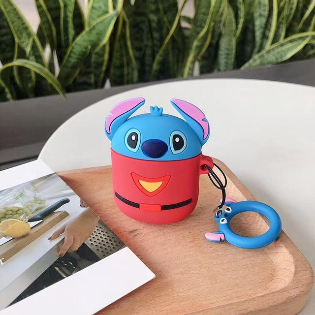 Lilo and Stitch Outfit Premium AirPods Case Shock Proof Cover-iAccessorize