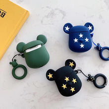 Load image into Gallery viewer, Limited Edition KAWS Gloomy 'Black Gold Stars' Premium AirPods Case Shock Proof Cover-iAccessorize