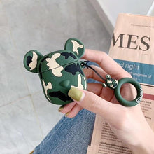 Load image into Gallery viewer, Limited Edition KAWS Gloomy 'Jungle Camouflage' Premium AirPods Case Shock Proof Cover-iAccessorize