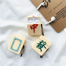 Load image into Gallery viewer, Mahjong 'Red Dragon' Premium AirPods Case Shock Proof Cover-iAccessorize