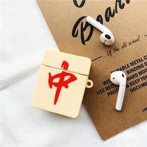 Mahjong 'Red Dragon' Premium AirPods Case Shock Proof Cover-iAccessorize