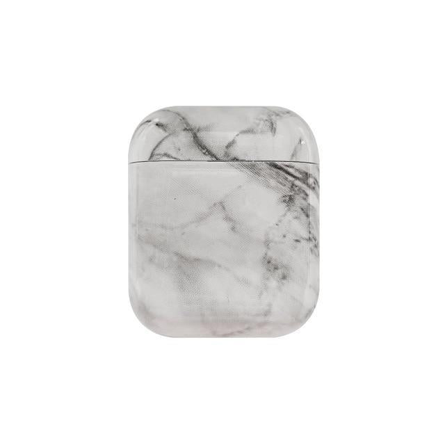 Marble AirPods Case Shock Proof Cover-iAccessorize