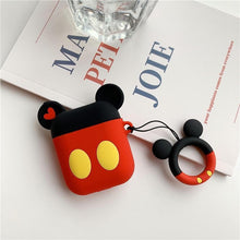 Load image into Gallery viewer, Mickey Mouse AirPods Case Shock Proof Cover-iAccessorize