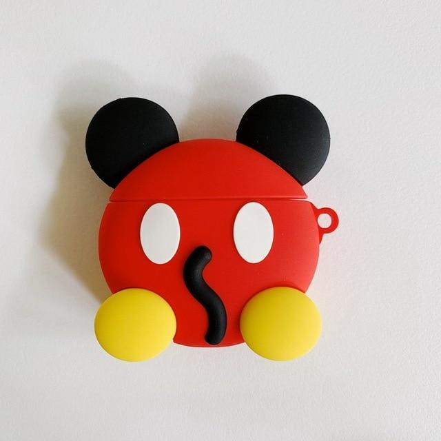 Mickey Mouse 'Booty' Premium AirPods Case Shock Proof Cover-iAccessorize