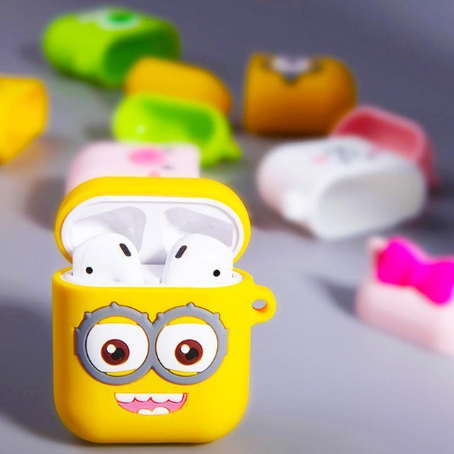 Minions AirPods Case Shock Proof Cover-iAccessorize