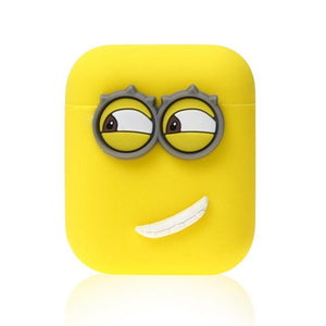 Minions Right Smile AirPods Case Shock Proof Cover-iAccessorize