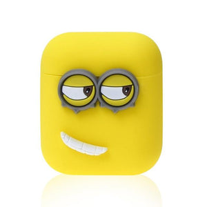 Minons Left Smile AirPods Case Shock Proof Cover-iAccessorize