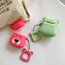 Load image into Gallery viewer, Mint Bear Premium AirPods Case Shock Proof Cover-iAccessorize