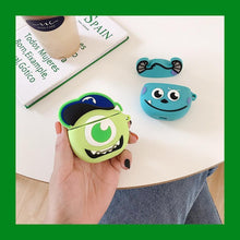 Load image into Gallery viewer, Monsters Inc. Baby Mike Wizowski Premium AirPods Case Shock Proof Cover-iAccessorize