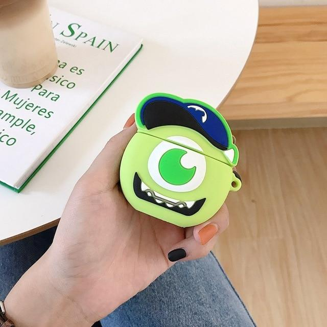 Monsters Inc. Baby Mike Wizowski Premium AirPods Case Shock Proof Cover-iAccessorize