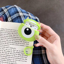 Load image into Gallery viewer, Monsters Inc. 'Round Mike Wizowski' Premium AirPods Case Shock Proof Cover-iAccessorize