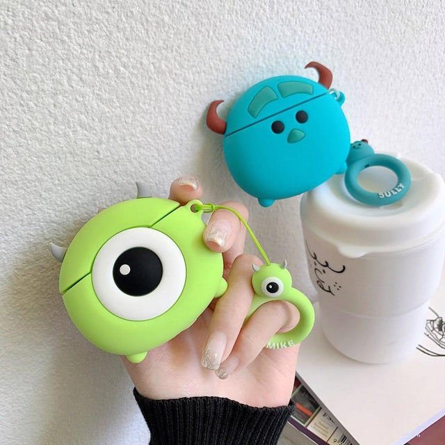 Monsters Inc 'Sully' Premium AirPods Case Shock Proof Cover-iAccessorize