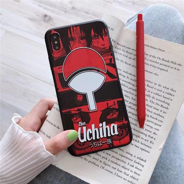 Naruto Uchiha iPhone Case-iAccessorize