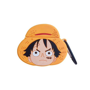 "One Piece Monkey D. ""Straw Hat"" Luffy Premium AirPods Case Shock Proof Cover-iAccessorize"