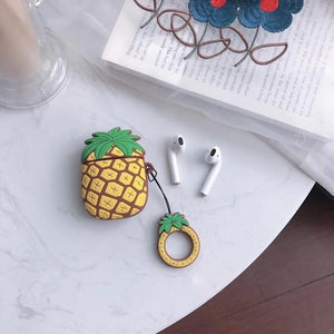 Pineapple AirPods Case Shock Proof Cover-iAccessorize