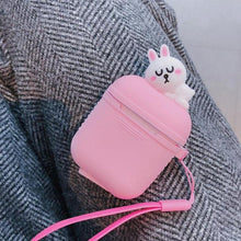 Load image into Gallery viewer, Pink Baby Bunny AirPods Case Shock Proof Cover-iAccessorize