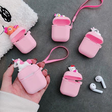 Load image into Gallery viewer, Pink Baby Duck AirPods Case Shock Proof Cover-iAccessorize