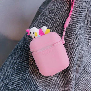 Pink Baby Duck AirPods Case Shock Proof Cover-iAccessorize