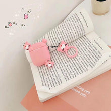Load image into Gallery viewer, Pink Panther Ears AirPods Case Shock Proof Cover-iAccessorize