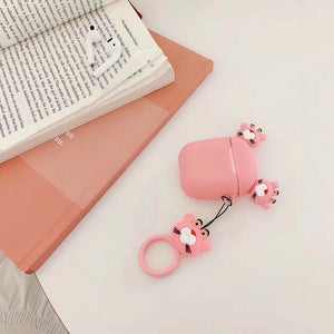 Pink Panther Ears AirPods Case Shock Proof Cover-iAccessorize