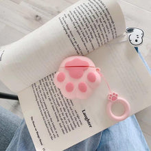 Load image into Gallery viewer, Pink Paw AirPods Case Shock Proof Cover-iAccessorize