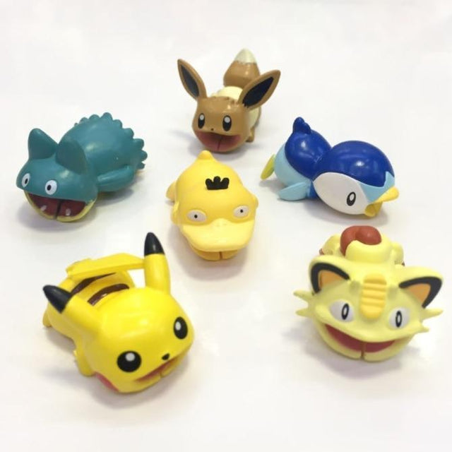 Piplup Pokemon Cable Protector for iPhone XS Max XR 8 Universal USB Charging Cable Cover-iAccessorize