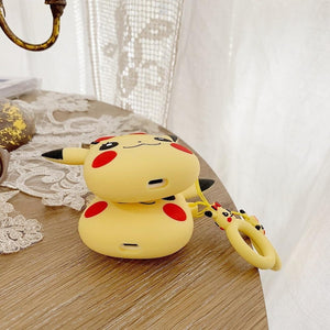 Pokemon Pikachu Red Bow Premium AirPods Case Shock Proof Cover-iAccessorize