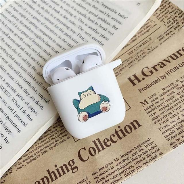 Pokemon Snorlax AirPods Case Shock Proof Cover-iAccessorize