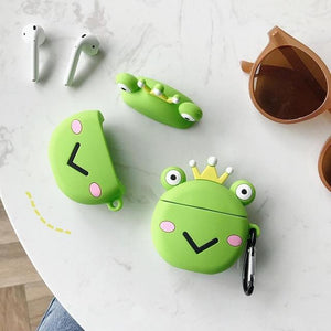 Prince Frog Premium AirPods Case Shock Proof Cover-iAccessorize